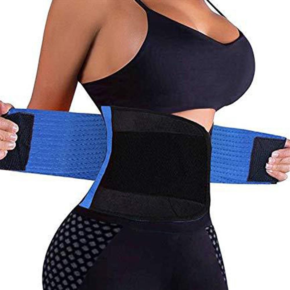 Corsetto da donna allenatore da donna Top Shaper da donna cintura dimagrante cinturino modellante Body Shaper corsetto cintura in vita cintura lombare in Neoprene 2