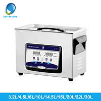 Limpiador ultrasónico SKYMEN 3,2l/4.5L/6L/10L/14.5L/15L/20L/22L/30L tabla principal de lavado de equipos médicos de laboratorio palos de Golf