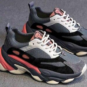 Image 4 - SWYIVY obuwie damskie platforma trampki 2020 wiosna nowe kobiece kliny trampki wygodne Chunky buty dla kobiety Sneaker