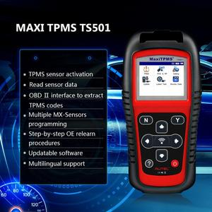 Image 2 - Autel MaxiTPMS TS501 315/433Mhz TPMS Programming Tool  Activate TPMS Sensors Reads/clears codes of TPMS system OBD2 Scanner
