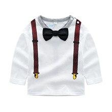 Коллекция года, новая стильная Весенняя детская одежда для детей г., Детское пальто из хлопка для маленьких мальчиков рубашка для джентльменов