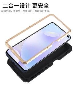 Image 3 - IMATCH Aluminum Metal Silicone Shockproof Case For Xiaomi Redmi Mi 10t Lite Pro ultra K30 K20 9T Pro F1 Dirt Shock Proof Case
