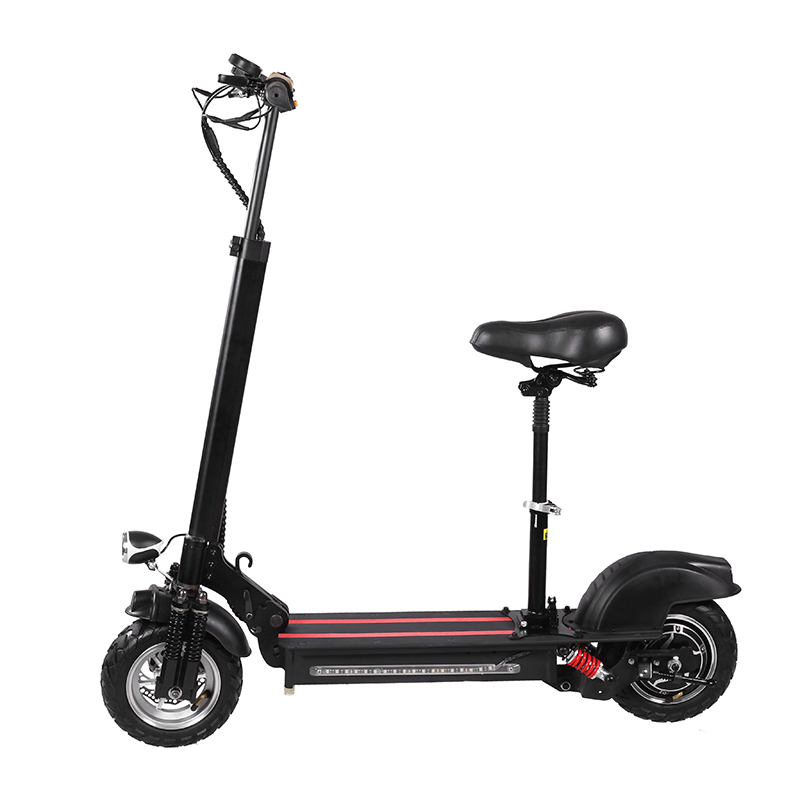 V-L06 Folding 10inch Electric <font><b>Scooter</b></font> 800w <font><b>1000w</b></font> 48v Electric Bike <font><b>Scooter</b></font> With Dual Motors image