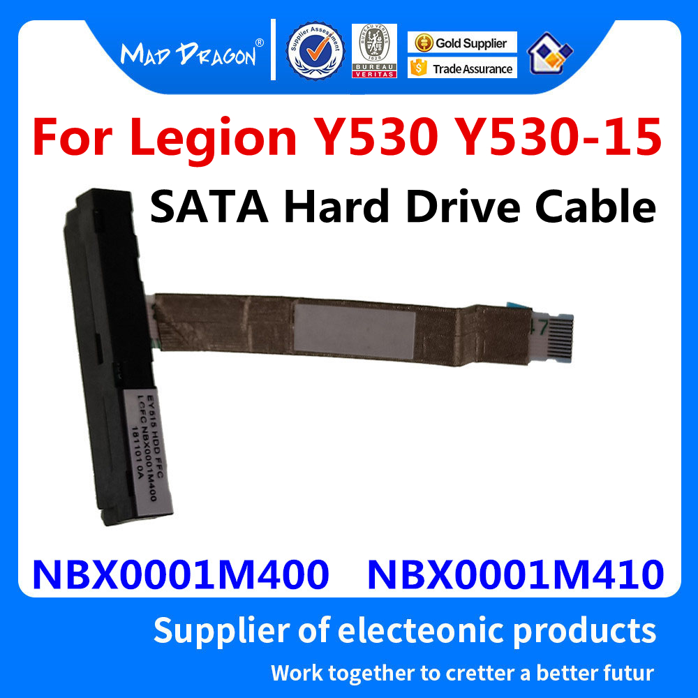 New Original SSD SATA Hard Drive Cable HDD Connector For Lenovo Legion Y530 Y530-15 EY515 NBX0001M400 NBX0001M410 5C10R40220