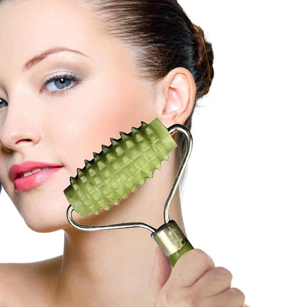 นวดแบบพกพา Roller Jade Facial Massager Roller Face Lift Anti Wrinkle Facial ผ่อนคลาย Lift Slimming ความงาม Stick STICK