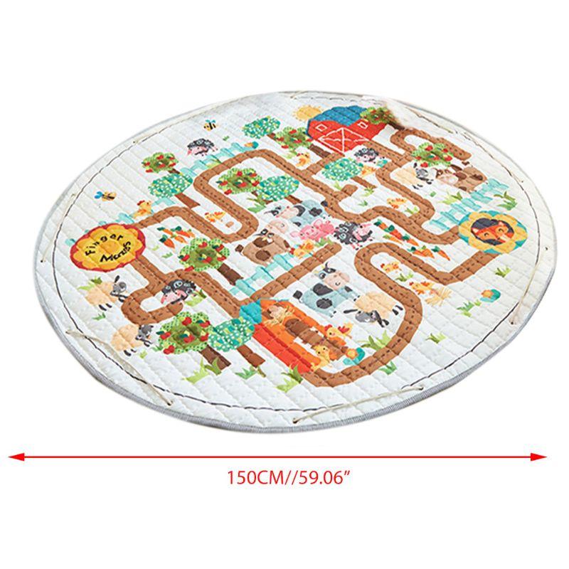 Baby Game Crawling Mat Picnic Carpet Living Children Room Decorative Floor Mats X5XE