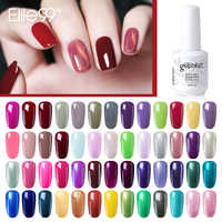 Elite99 15ml Top Base Coat Needed Classic Series Gel Polish 298 Pure Colors Gel Varnishes For Stamping Vernis Semi Permanent