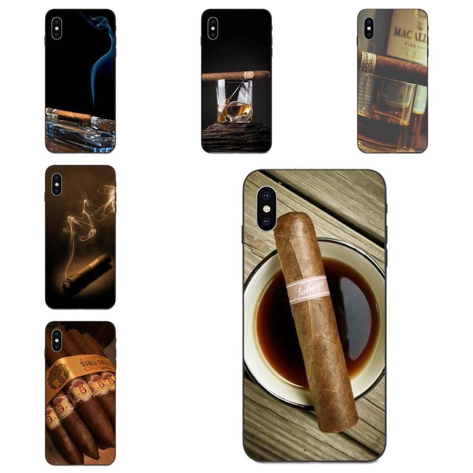 Cigar Smoke Wallpaper Tpu Hot Selling For Apple Iphone 11 X Xs Max Xr Pro Max 4 4s 5 5s Se 6 6s 7 8 Plus Phone Case Covers Aliexpress
