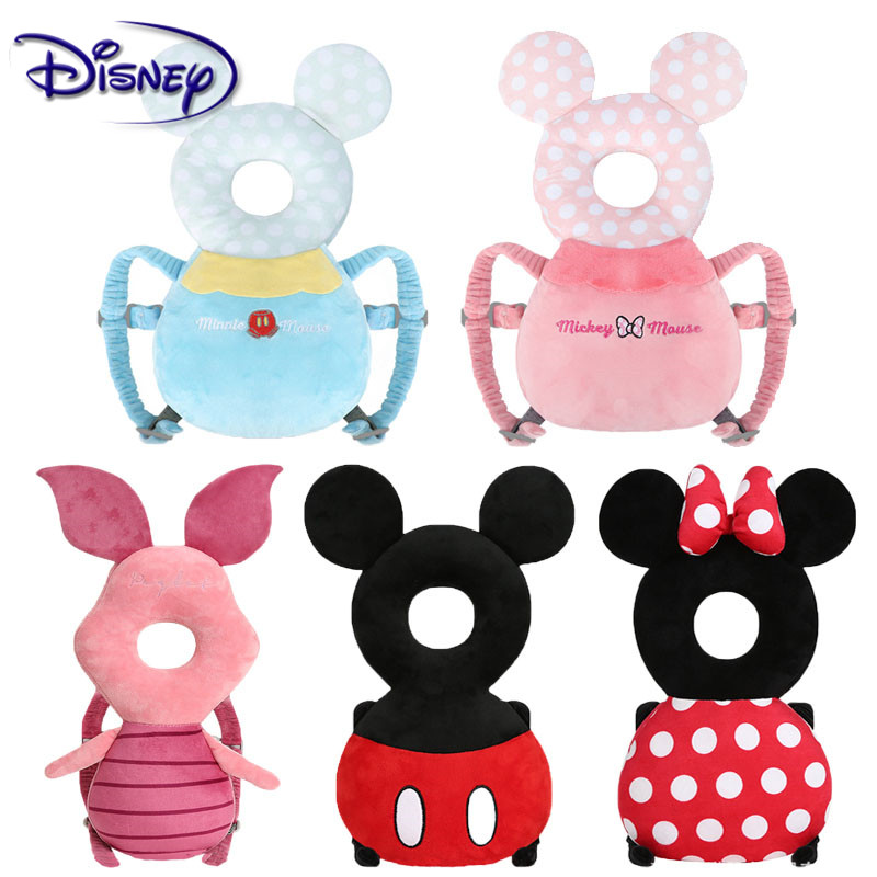 Disney Baby Head Protection Pad Toddler Headrest Pillow Baby Neck Cute Wings Nursing Drop Resistance Cushion Baby Protect