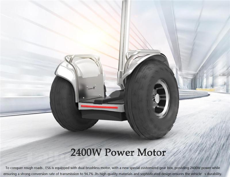 New Off Road Electric Scooter Personal Golf Carts 19 Inch Self Balancing Hoverboard 2400W Electric Golf Scooter With GPSAPP (9)