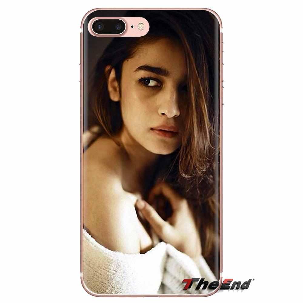 Điện Thoại di động Bao Alia Bhatt một nữ diễn viên Ấn Độ mô hình Cho OnePlus 3T 5T 6T Nokia 2 3 5 6 8 9 230 3310 2.1 3.1 5.1 7 Plus 2017 2018