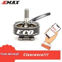 التخليص الرسمي Emax ايكو سلسلة 2306 1900KV فرش السيارات طائرة مزودة بجهاز للتحكم عن بُعد FPV سباق بدون طيار