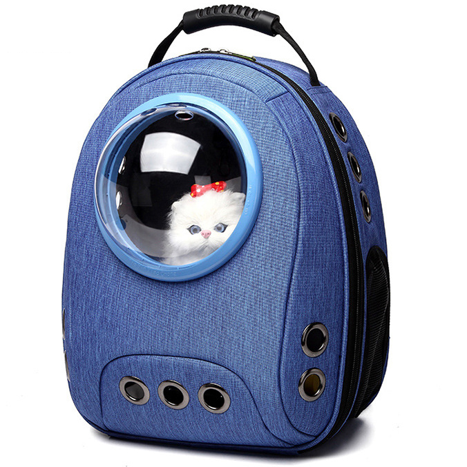 Carriers & cages Cats Portable Travel Pet Bag With Bubble Astronaut  My Pet World Store