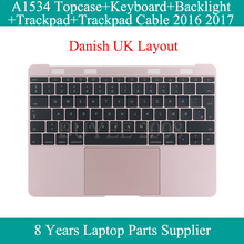 A1534 Danish Keyboard Backlight 2016 2017 Year For Macbook 12\