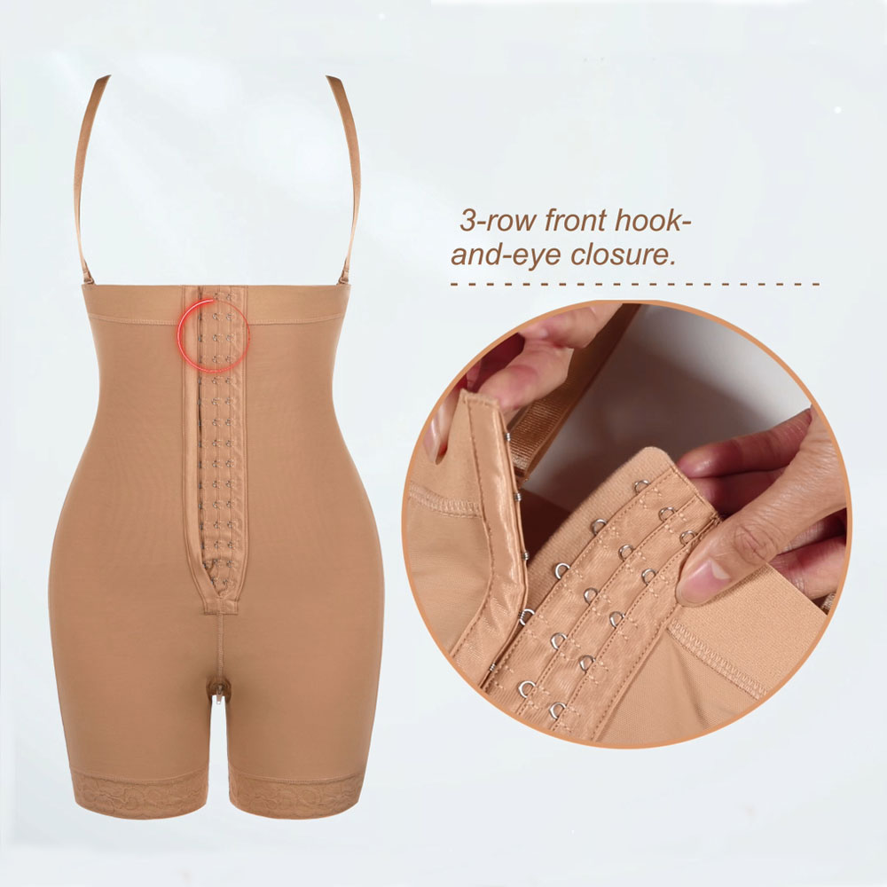 Lover-Beauty High Waist Tummy Control Body Shaper Corset Hip Enhancer  2
