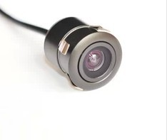 Car Universal 18.5 Cassette CCD High-definition Night Vision Webcam Rear View Punched Hole Embedded Visual Webcam