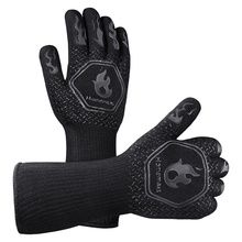 Mittens Kitchen Gloves Heat-Resistant Bbq-Grill Baking Barbecue Thick Silicone Home Oven