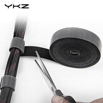 YKZ Кабельный органайзер, проводная намотка, компьютерный кабель, управление наушниками, держатель для мыши, шнур, зажим, протектор для iPhone ...