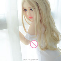 107CM Real TPE Silicone SexDolls No Breast Mini Love Doll White Skin Color Adult Sex Toys for Men