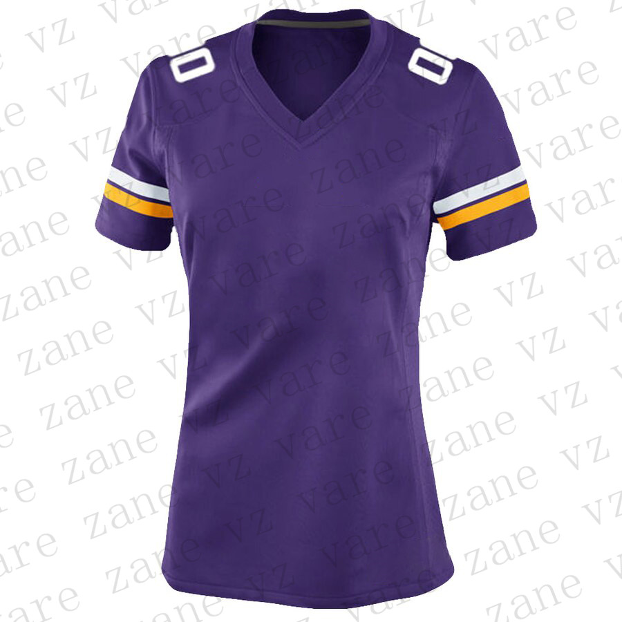 Customize Womens Sports Football Jerseys Adam Thielen Dalvin Cook Stefon Diggs Harrison Smith Kirk Cousins Cheap Jersey