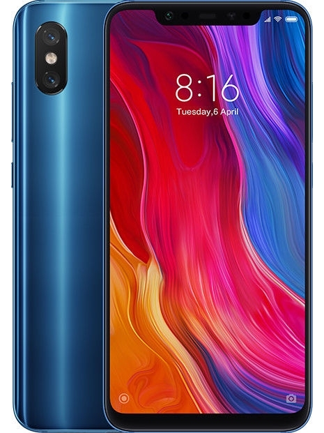 Xiaomi Mi 8, Global Version, Band 4G, Dual SIM, 6 Hard GB RAM, Internal 64 Hard GB De Memoria, 3400 MAh, (15,8 Cm (Screen De