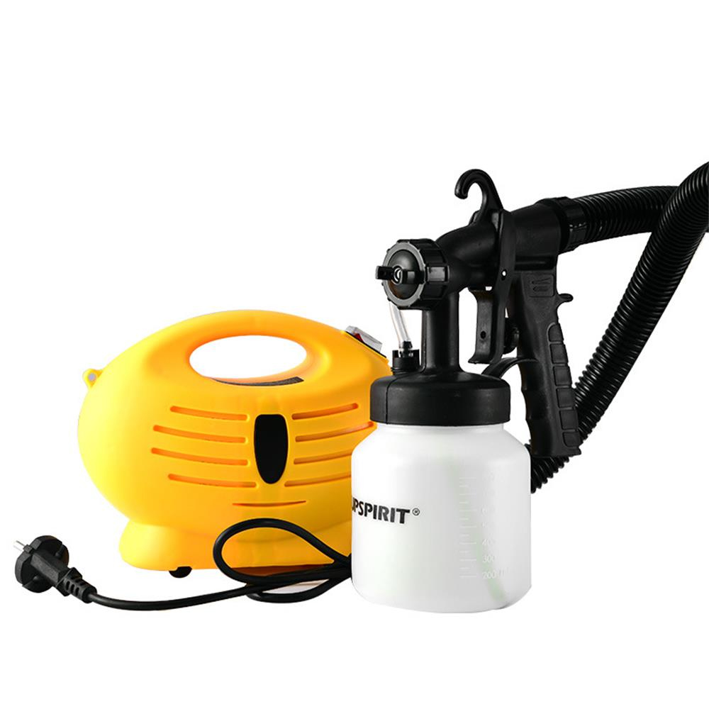 Electric Spray Gun 650W <font><b>Airbrush</b></font> with <font><b>Compressor</b></font> Airless Paint Sprayer HVLP Electric Spray Gun For Painting Cars Wall Furnature image