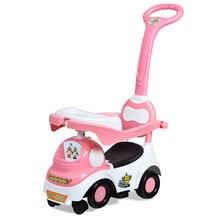 3 в 1 Детская езда на пуш ап коляска виде машины рюкзак для