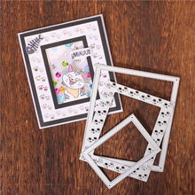 InLoveArts  Dog Footprint Frame Metal Cutting Dies New 2019 Background Card Making Scrapbooking Dies Embossing Cuts Craft Dies inlovearts christmas dies tree metal cutting dies new 2019 for card making scrapbooking embossing album craft frame die cuts