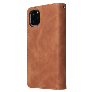 Image 5 - Pu 가죽 전화 케이스 애플 아이폰 11 11pro 11 프로 최대 완전히 동봉 된 보호 지갑 기능 패키지