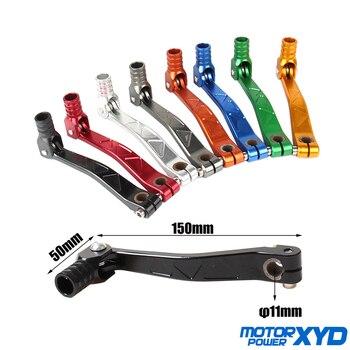 Palanca de cambio de marchas plegable, CNC, de aluminio, compatible con KAYO, Apollo, Xmotos, SSR, CRF, KLX, Dirt Pit Bike, 50cc, 70cc, 110cc, 125cc, XR/CRF 50