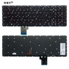 Клавиатура US для Lenovo Y50 Y50 70 Y70 70 U530 U530P U530P IFI