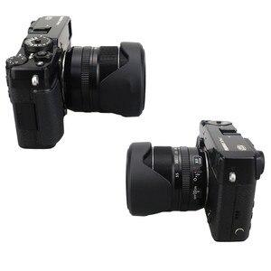 Image 5 - Flower Lens Hood for Fujifilm X T30 X T20 X T10 X T3 X T2 X T1 X E3 X E2 X E1 with 18 55mm lens / FUJINON LENS XF 14mm F2.8 R