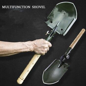 Многофункциональная лопата для кемпинга, лопата для самозащиты, инструмент выживания в дикой природе, походные аксессуары
