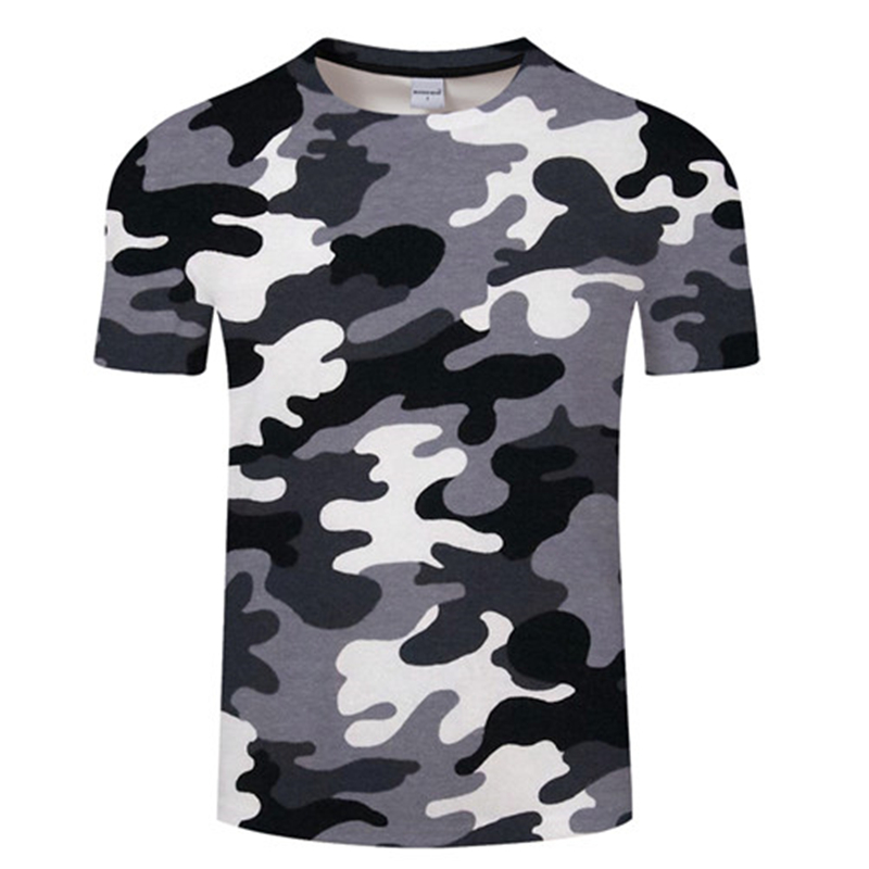 Camouflage Tshirt Men Women Short Sleeve Breathable Clothing Funny Top Hiking Sport Camouflage 3d Printed T-shirt