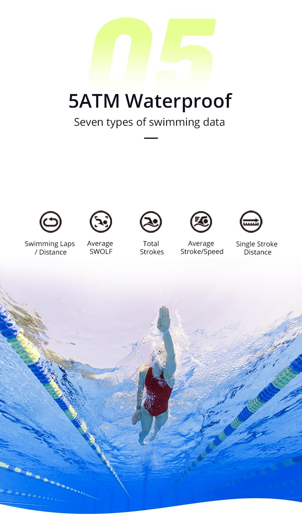 Dropshipping Makibes BR3 Strava Smartwatch Men Built-in GPS Smart Watch IP68 Waterproof Fitness Tracker Heart Rate Monitor Watch (5)