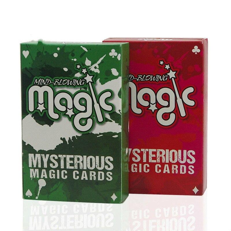 Invisible baraja trucos de magia alucinante misteriosa magia tarjetas Tarjeta de magia de cerca Kit Magia casa Bluetooth Wifi RGB RGBW RGBWC tira de LED controlador teléfono inteligente aplicación de Control de RF/Control Remoto IR Alexa Control por voz de Google