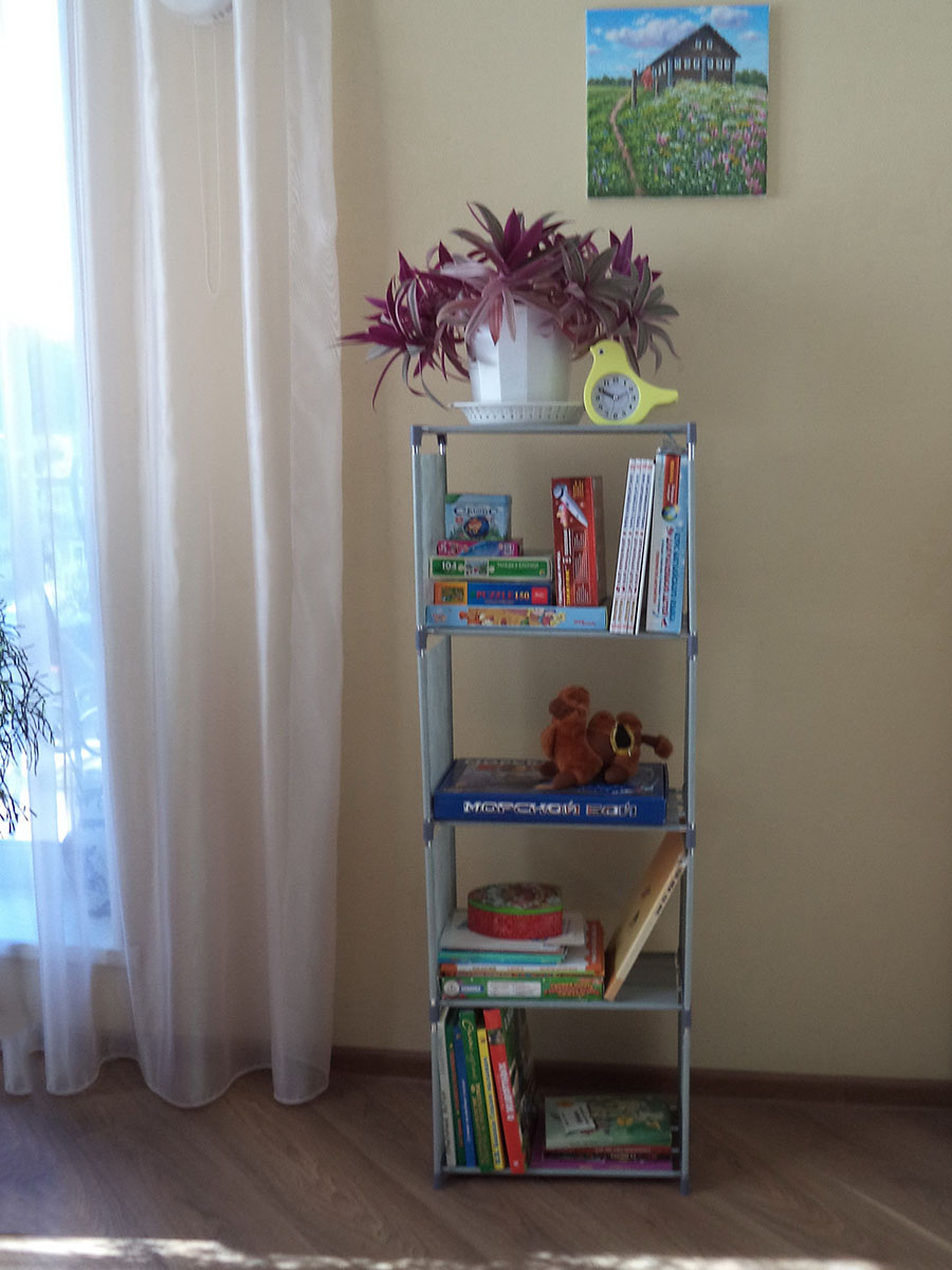 Storage-Shelf Floor-Standing Books-Plants Creative for Sundries DIY Children