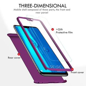 Image 4 - 360 Full Body Front กระจกนิรภัย + เคสโทรศัพท์สำหรับ Samsung A42 5G ฝาครอบสำหรับ Samsung Galaxy A42 5G A41 A4 4 1 2 41 42 Funda