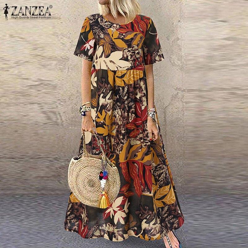 Summer Maxi Dress Women's 6
