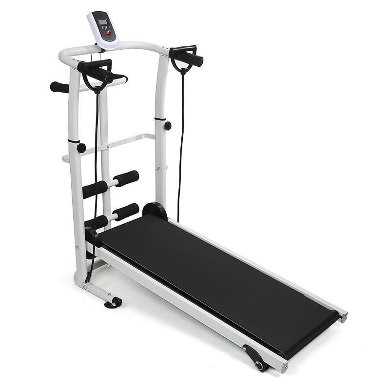Permalink to Multifunctio Electric Treadmill Folding Adjustable Running Machine LCD Running Sit-up Fitness Electric Treadmill For Home HWC