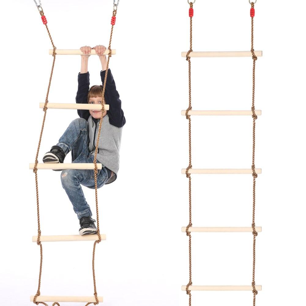 multi degraus crianças esporte corda balanço crianças