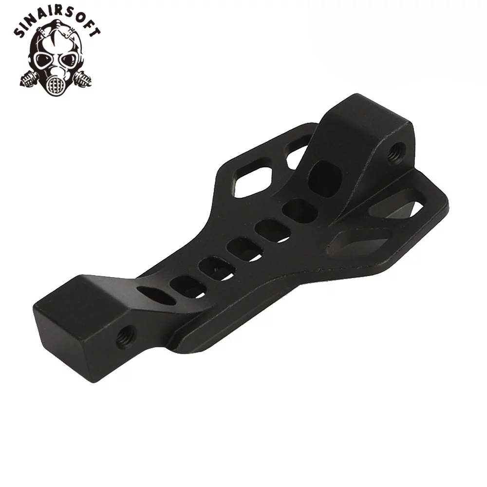AR15 M16 Enlarged Winter Billet Aluminum SI Trigger Guard Bow 416 NATO 5.56 Magazine Assist Finger Rest