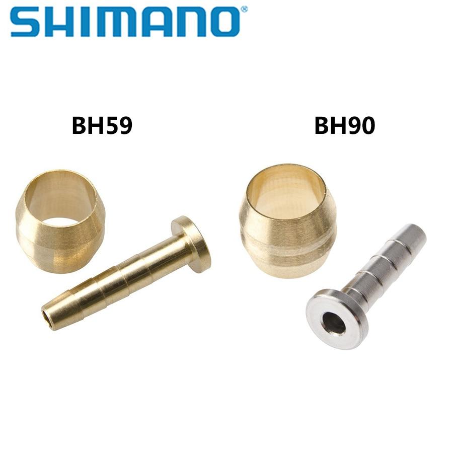 Shimano BH-90 M610 M6000 Deore SLX XT XTR Brake Hose Olive /& Connecting Insert