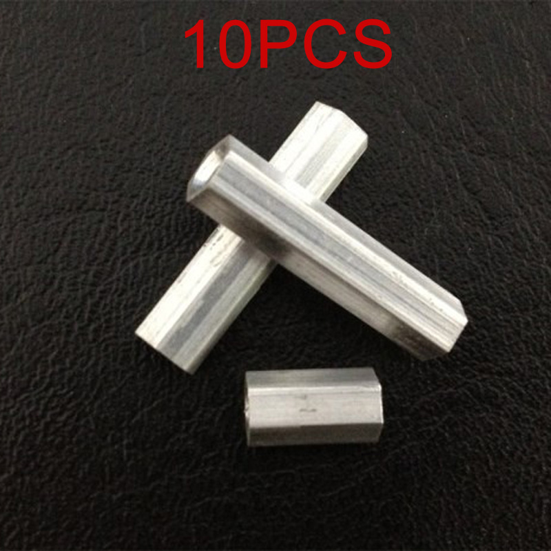 10PCS M3x37mm <font><b>M3x40mm</b></font> Hexagonal Aluminum Column Support Post Frame Pillar Spare Parts for RC Plant Agriculture UAV Drone image