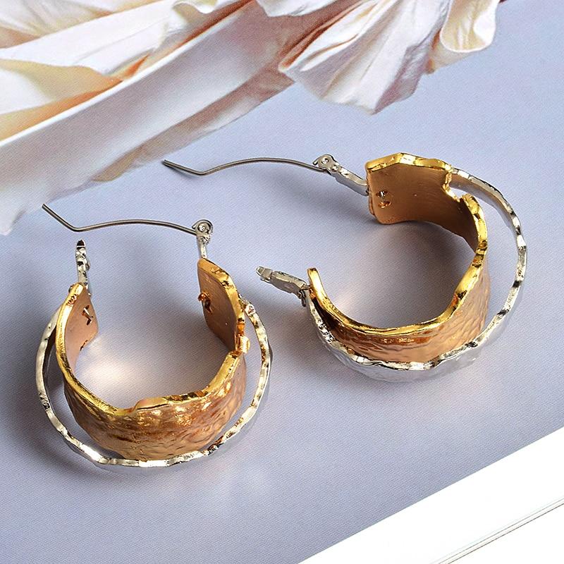 New Arrival Metal Earrings Statement Fashion Trend Drop Earring Fine Jewelry Accessories For Women Wholesale
