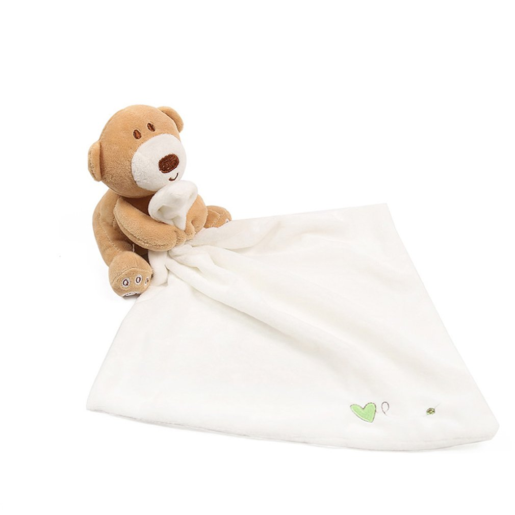 Детские игрушки, успокаивающее полотенце, одеяло для новорожденных, успокаикаивать младенцев, полотенце для сна, плюшевое полотенце, медве...