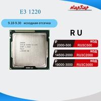 Intel Xeon E3-1220 E3 1220 3.1 GHz Quad-Core Quad-Thread CPU Processor 8M 80W LGA 1155 1