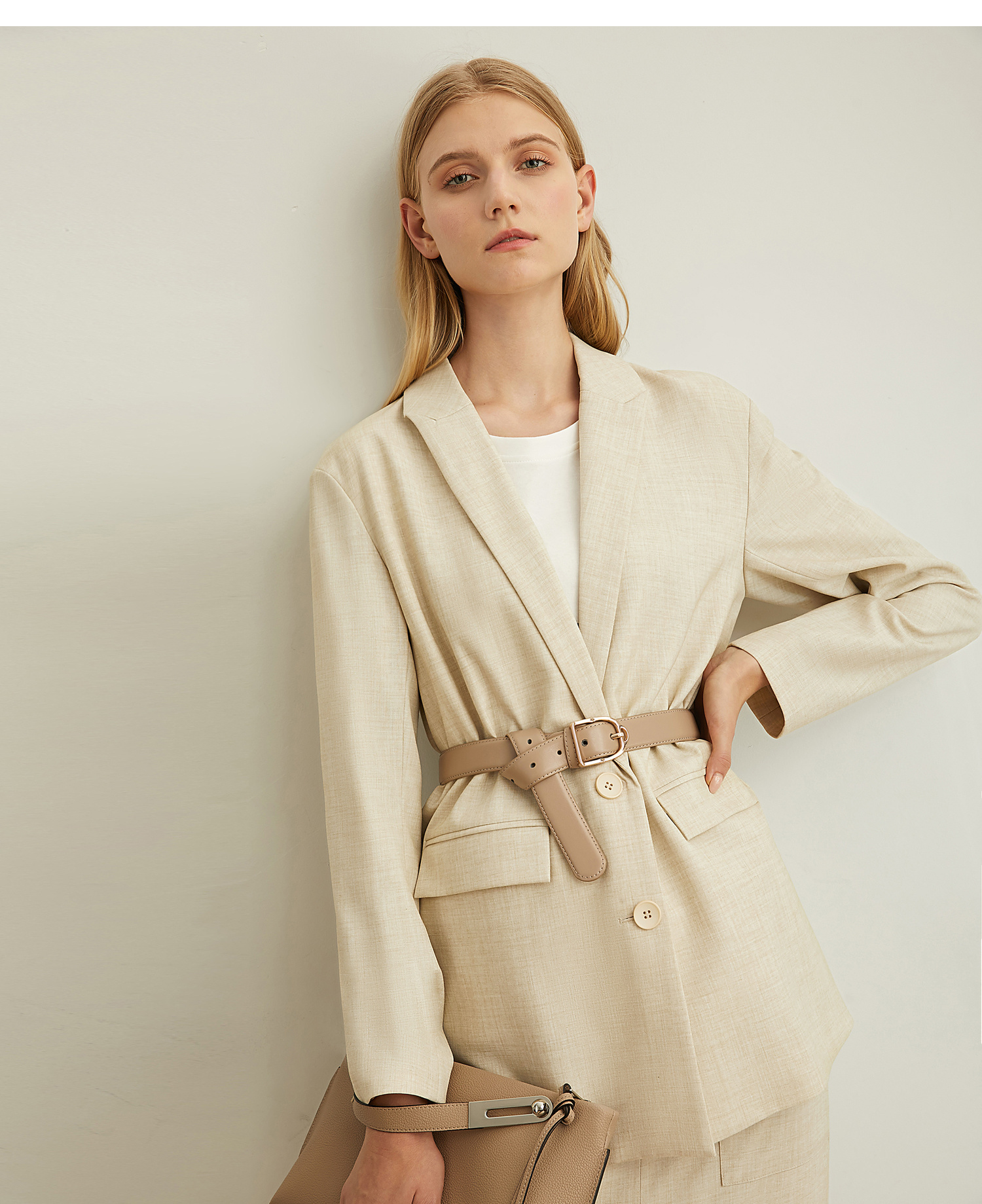 [winter Sale For Festival]Amii Minimal Fashion Vintage Ins Suit Fall 2019
