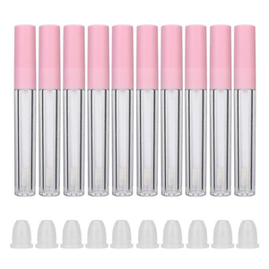 10pcs/lot 2.5ML Plastic Lip Gloss Tube DIY Lip Gloss Containers Bottle Empty Cosmetic Container Tool Makeup Organizer