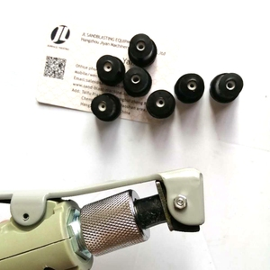 Image 3 - Luft Sandstrahlen Pistole für 5 20Gallon Mobile Sandblaser Tank Mit 7 Stück Düse Und 1 Kupfer Fitting